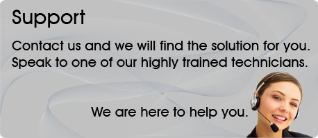 Contact us and we will find the right solution for you