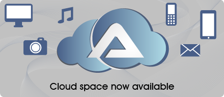 Cloud space now available